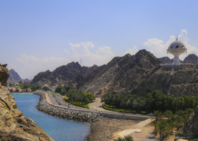 Straßen um Muscat