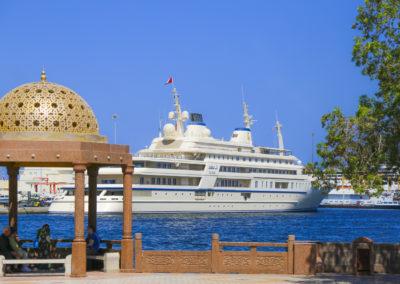 Yacht des Sultan
