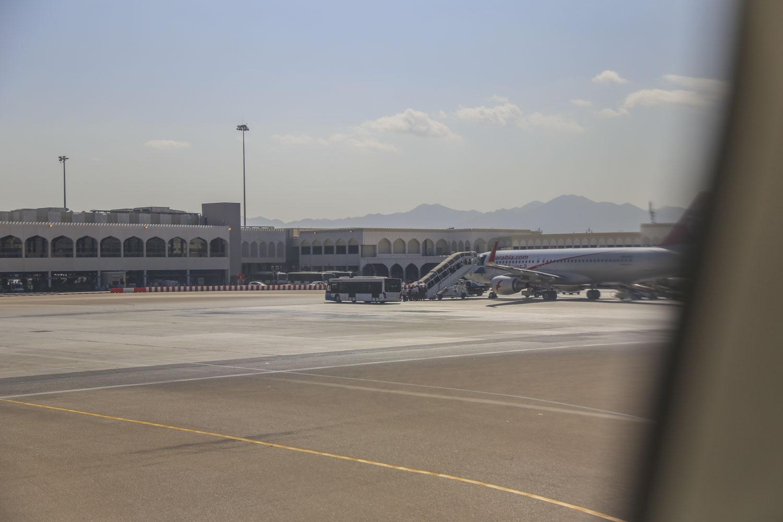 Muskat Flughafen