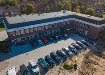 Firmengebäude Luftaufnahme Mavic 2 Foto Marketing sh